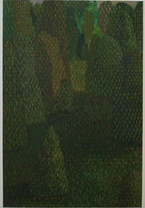 TREVELYAN CLAY  Landscape with a Passage 2008 acrylic on canvas 153 ×107cm