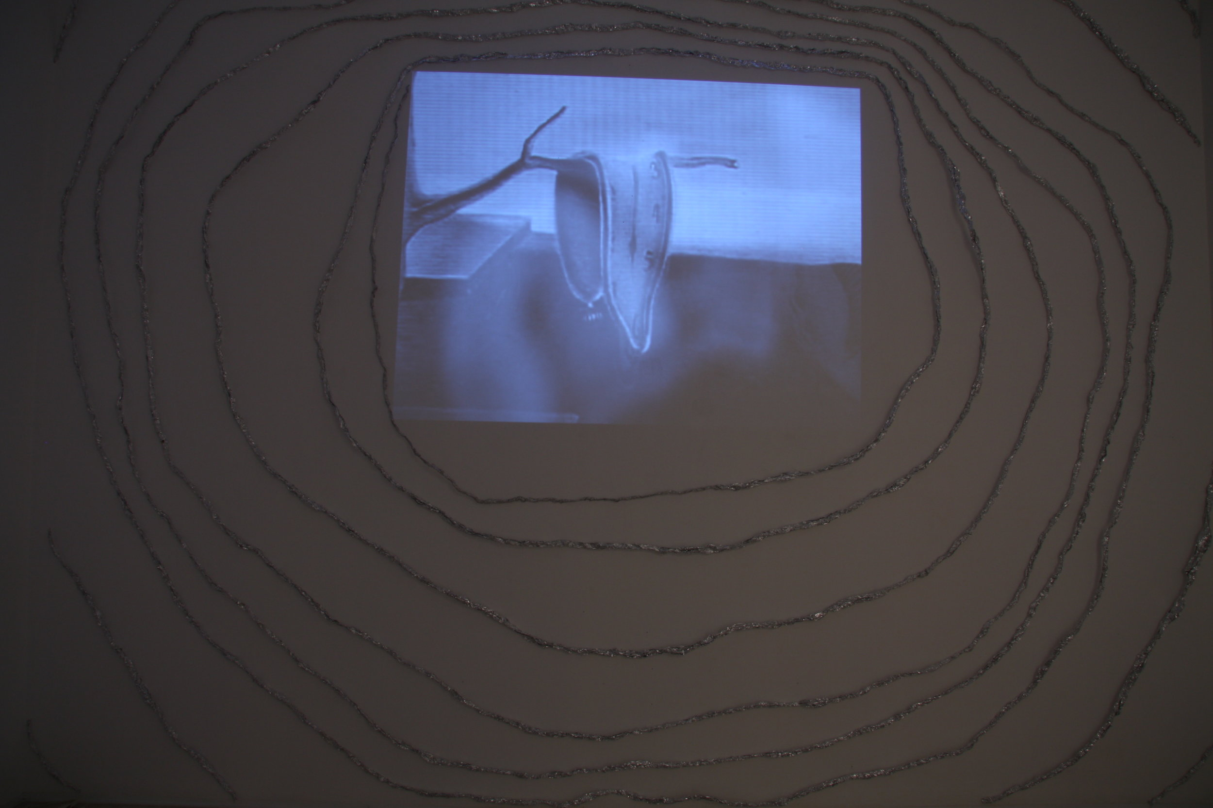 MATTHEW HOPKINS  Bent Time (Dali Redux)  P.O.A. 2009 Video installation dimensions variable