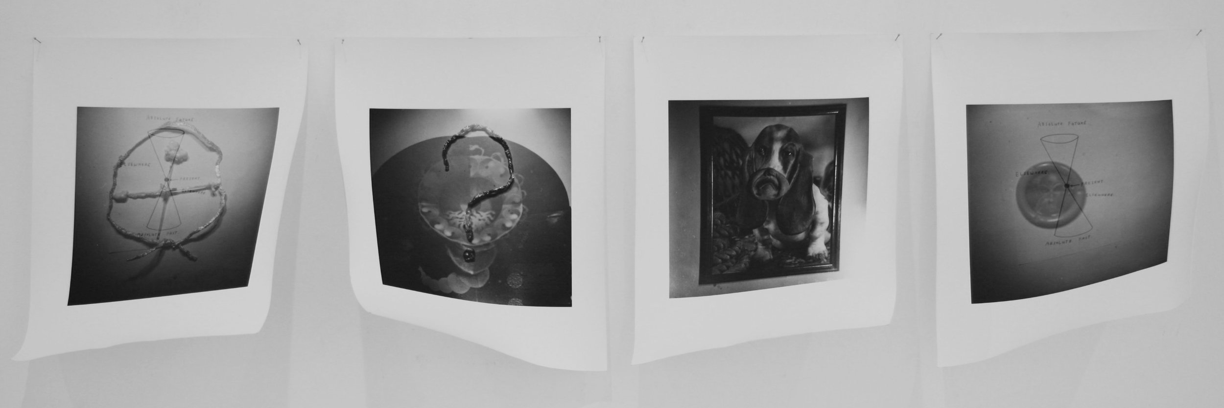 MATTHEW HOPKINS  Accidental Still Life #1 - 4  2009 silver gelatin photographs 8 x 10 inches Edition of 3