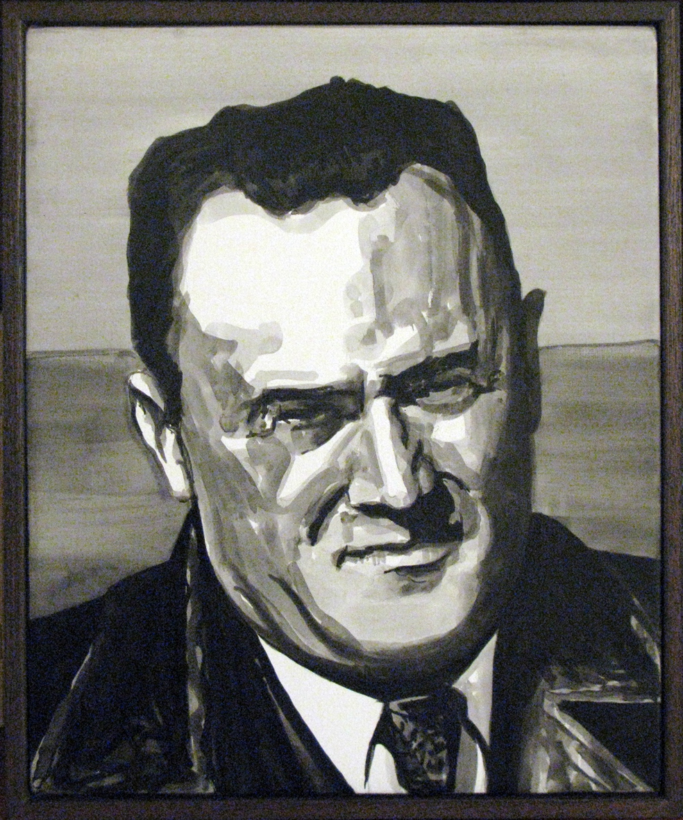 ADAM NORTON  Sergey Korolyov  2010 acrylic on canvas 30 ×25 cm