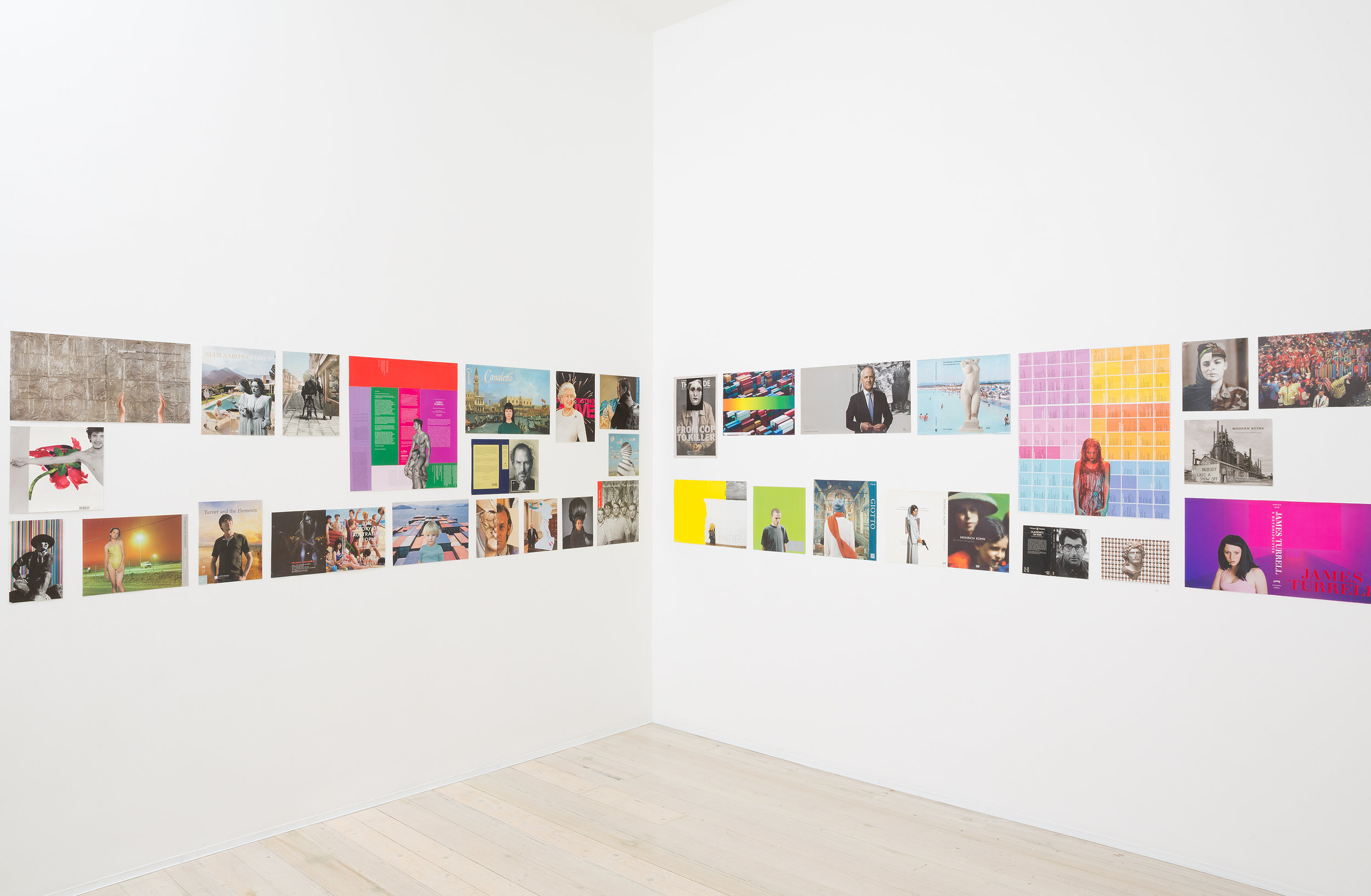 MARK TITMARSH  all universe in all time  (parts 1–86) 2015–18  paper collage, dimensions variable
