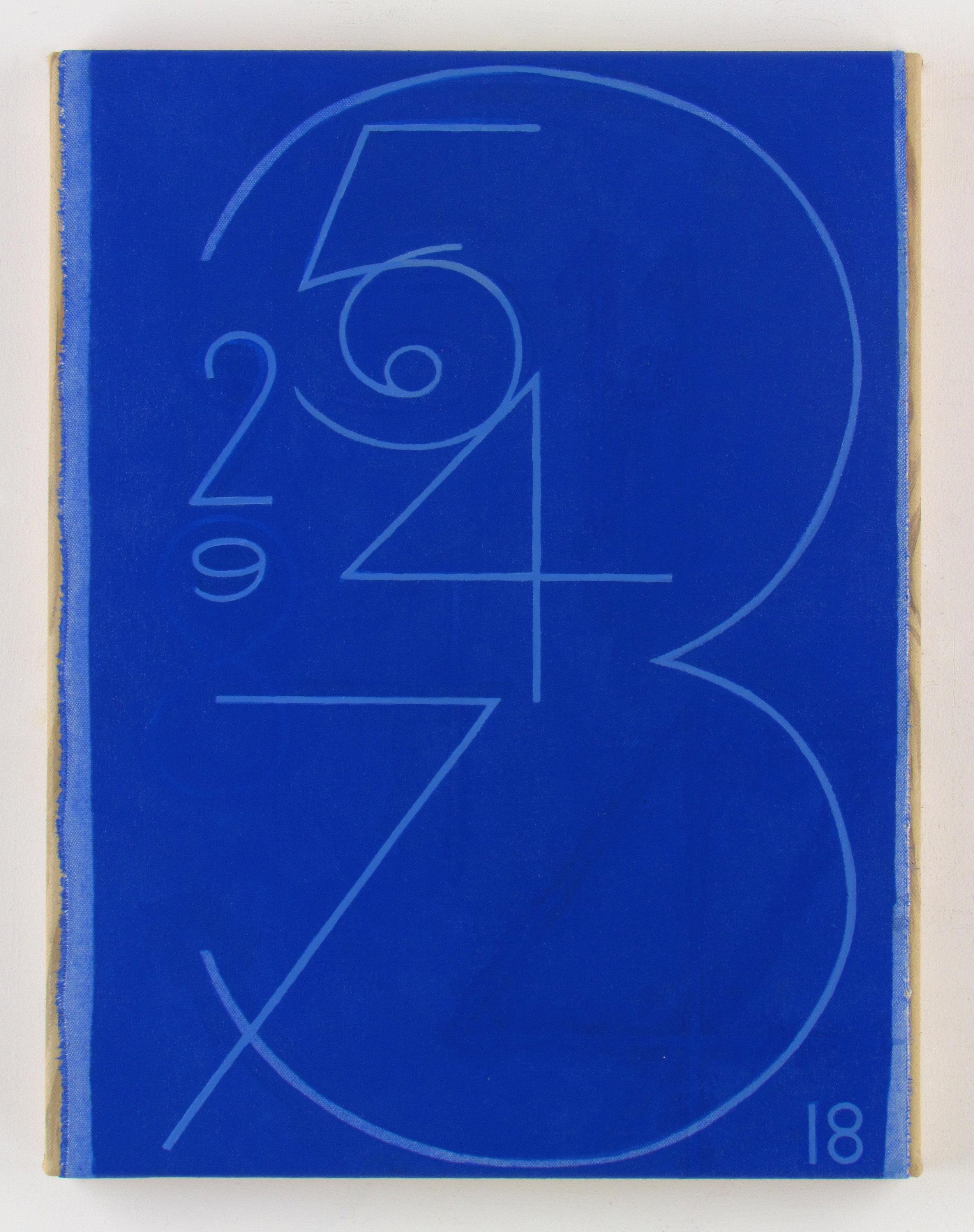 JULIAN HOOPER  Man of the year  Acrylic on canvas 45 ×35 cm
