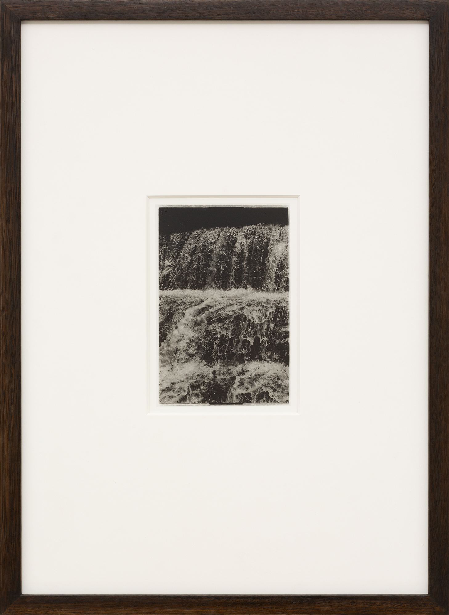 ANTHONY HODGKINSON Engulfed VI 2019 silver gelatin print 56 × 40 cm (edition of 3) Framed with Tasmanian oak and Museum Glass®