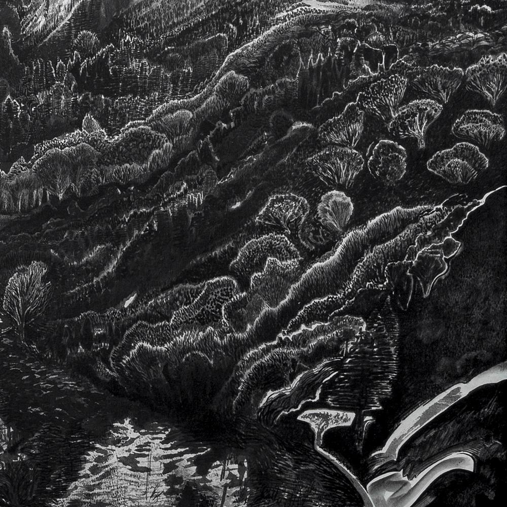 River Valley Near Bulguksia (detail)