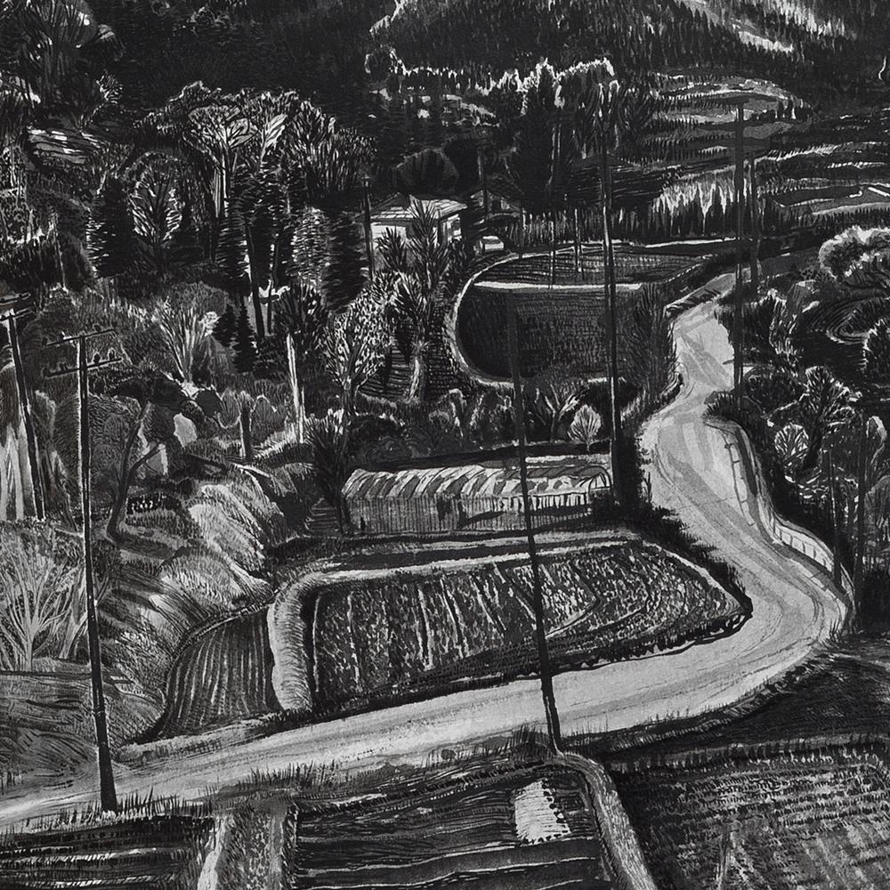 River Valley Near Bulguksa (detail)