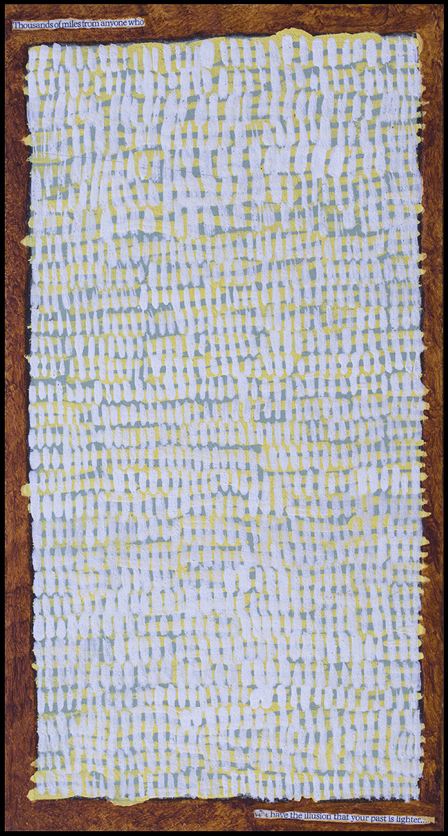 Travel   (Diptych) panel 2  $980 AUD (set)