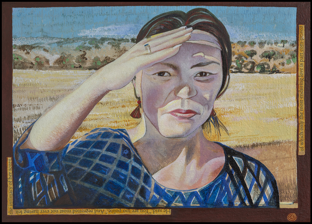 Korean Woman In Sunshine  $1200 AUD
