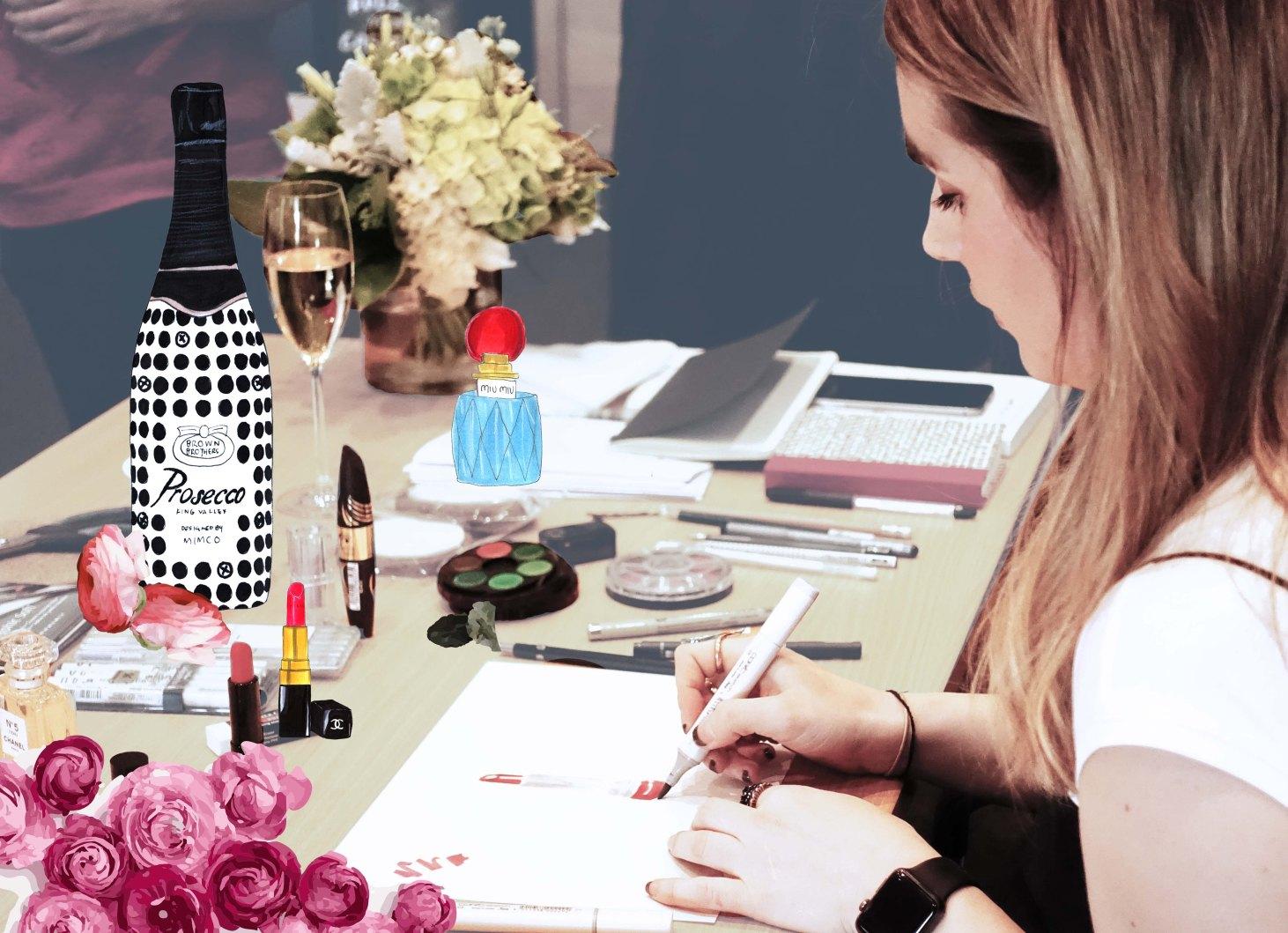 Pen, Paper, Prosecco_art series hotels_the juliet report