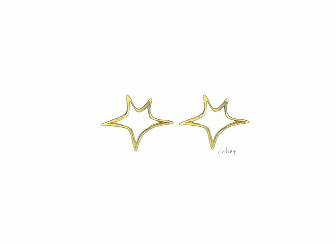 Nylons  - Gold Star Studs