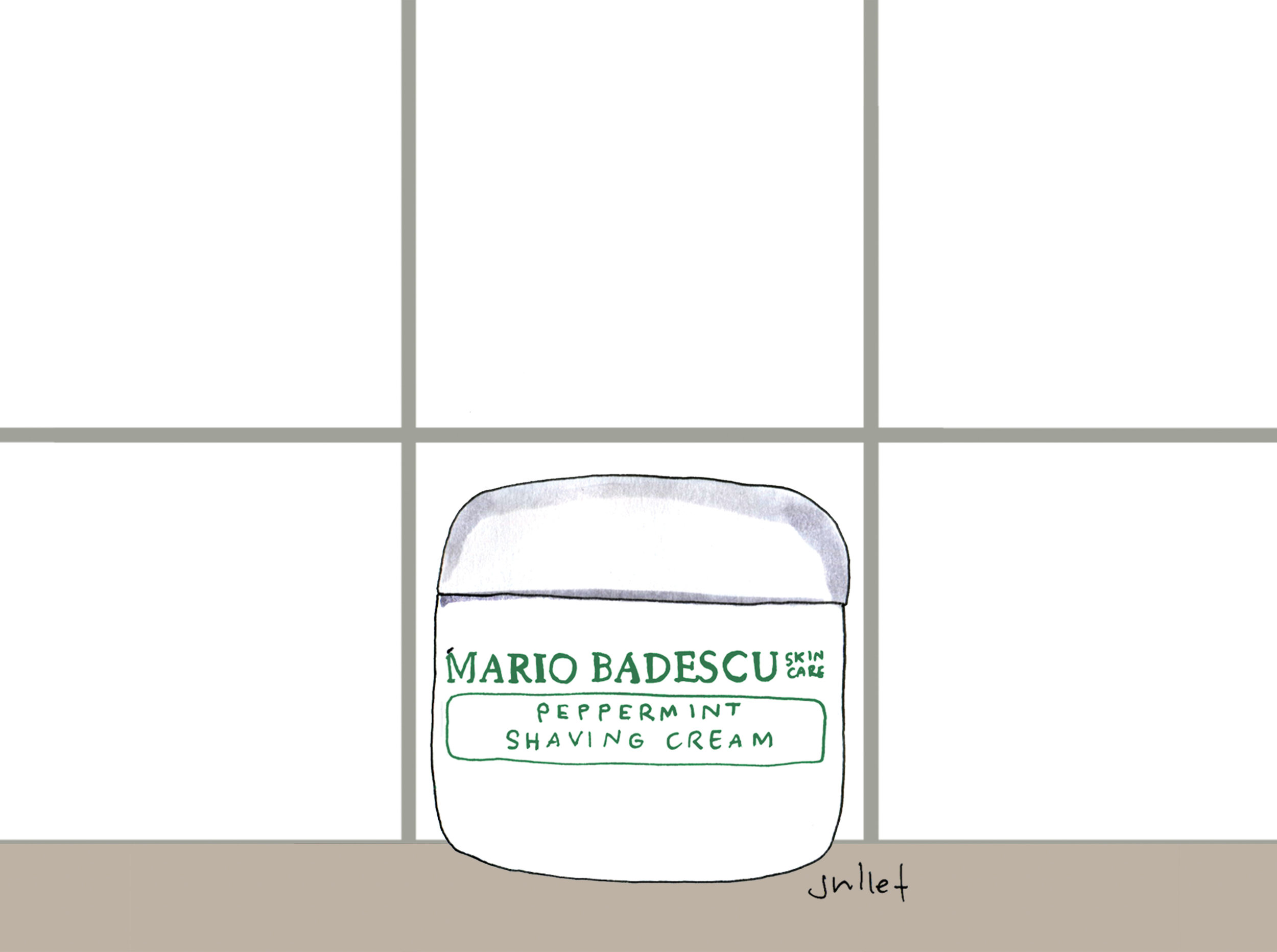 mario bedascu_peppermint shaving cream_the juliet report