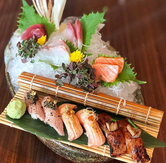 Sushi platter of our dreams 🥢 #SushiSaturday