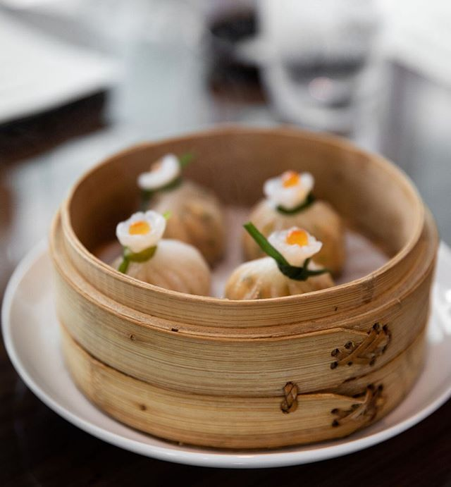 "During #MiamiSpice, ""Must-orders from the Japanese-Chinese outpost include chicken and morel siu mai, spicy prawn money bags, robata salmon and black bean chicken."" - @forbes 