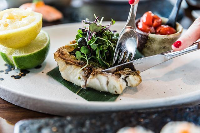 Taking life one bite a time. In addition to #MiamiSpice we also offer a 3-course #BusinessLunch ($23) featuring dishes like our Branzino.