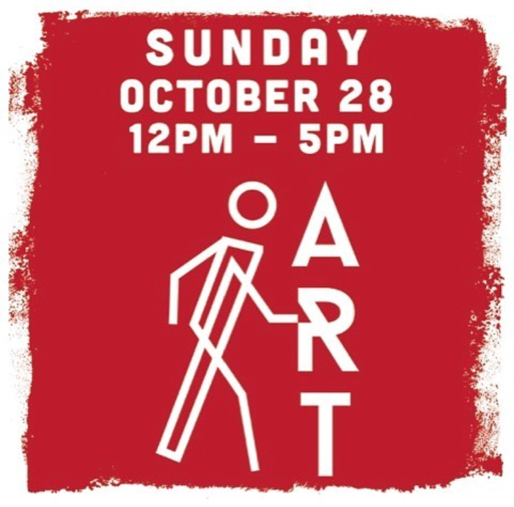 The Artlands | POP-UP - DTR ART WALKOctober 28, 2018 | 12 - 5PMAugies Coffee300 E. State St. #100, Redlands, CA 92373