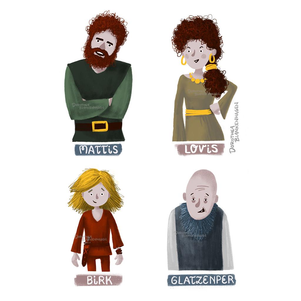 Weitere Charaktere der Geschichte