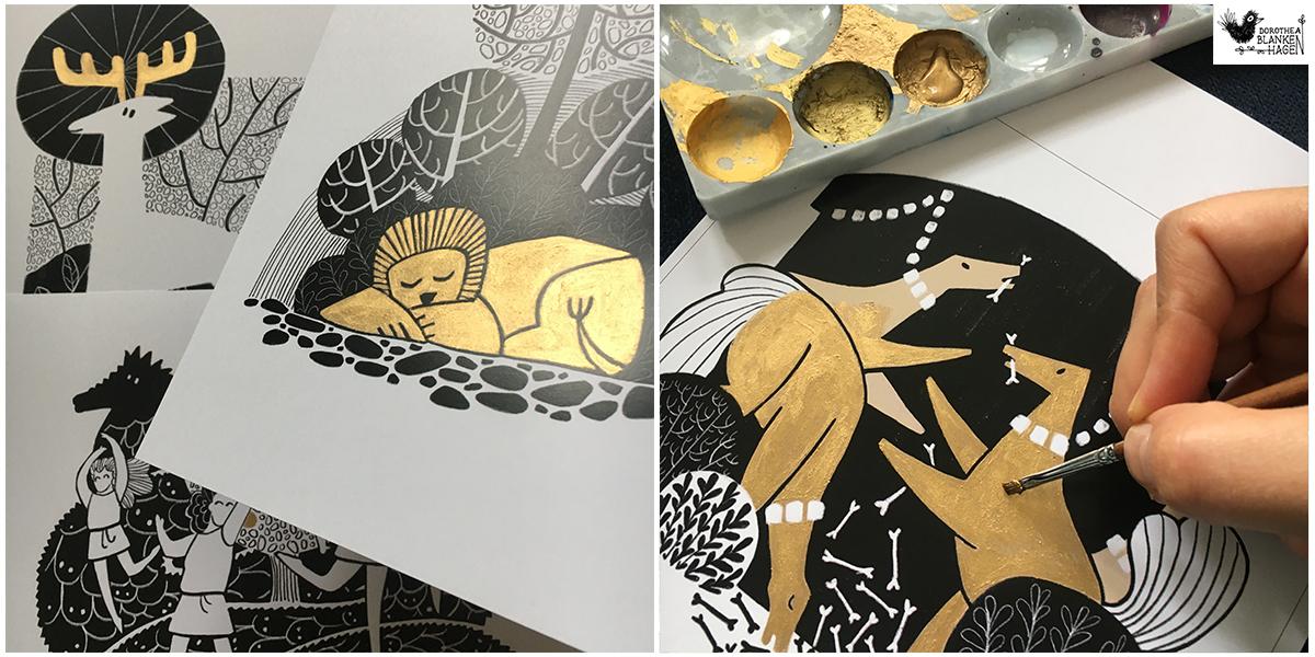 wagenundwinnen-sachsenanhalt-kunstfestival-gold-finish-exhibition-schaufenster-kinderbuch-childrensbook-illustration-dorothea-blankenhagen-berlin1.JPG
