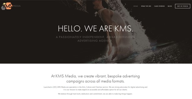 The new KMS Media website was launched in July 2017.