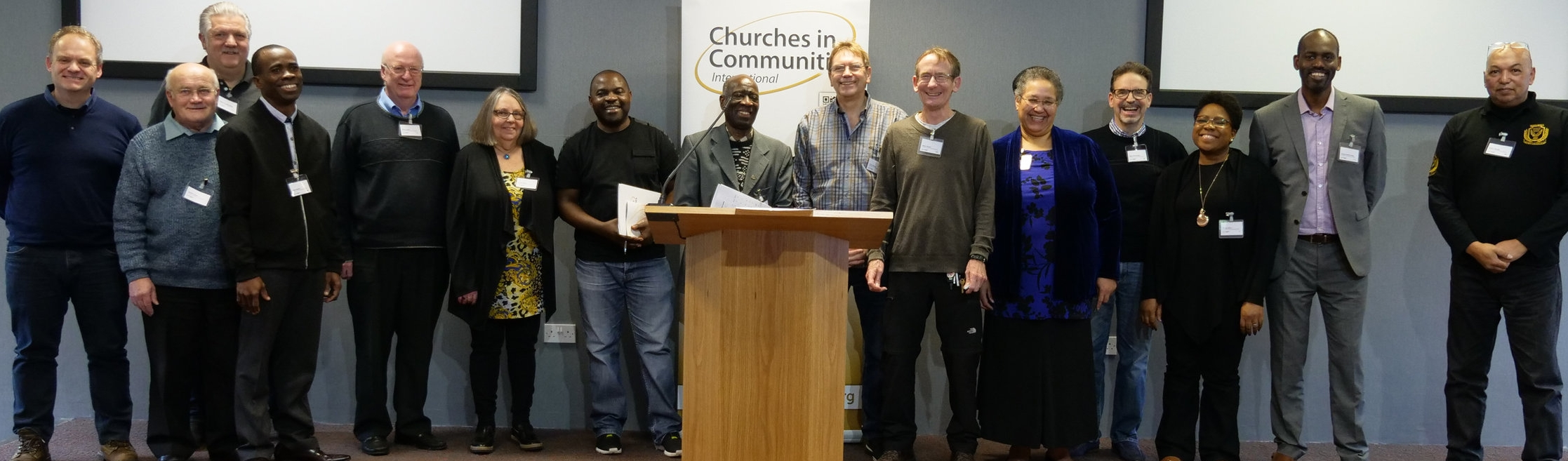 Some members of the CiC Council at the Annual Residential