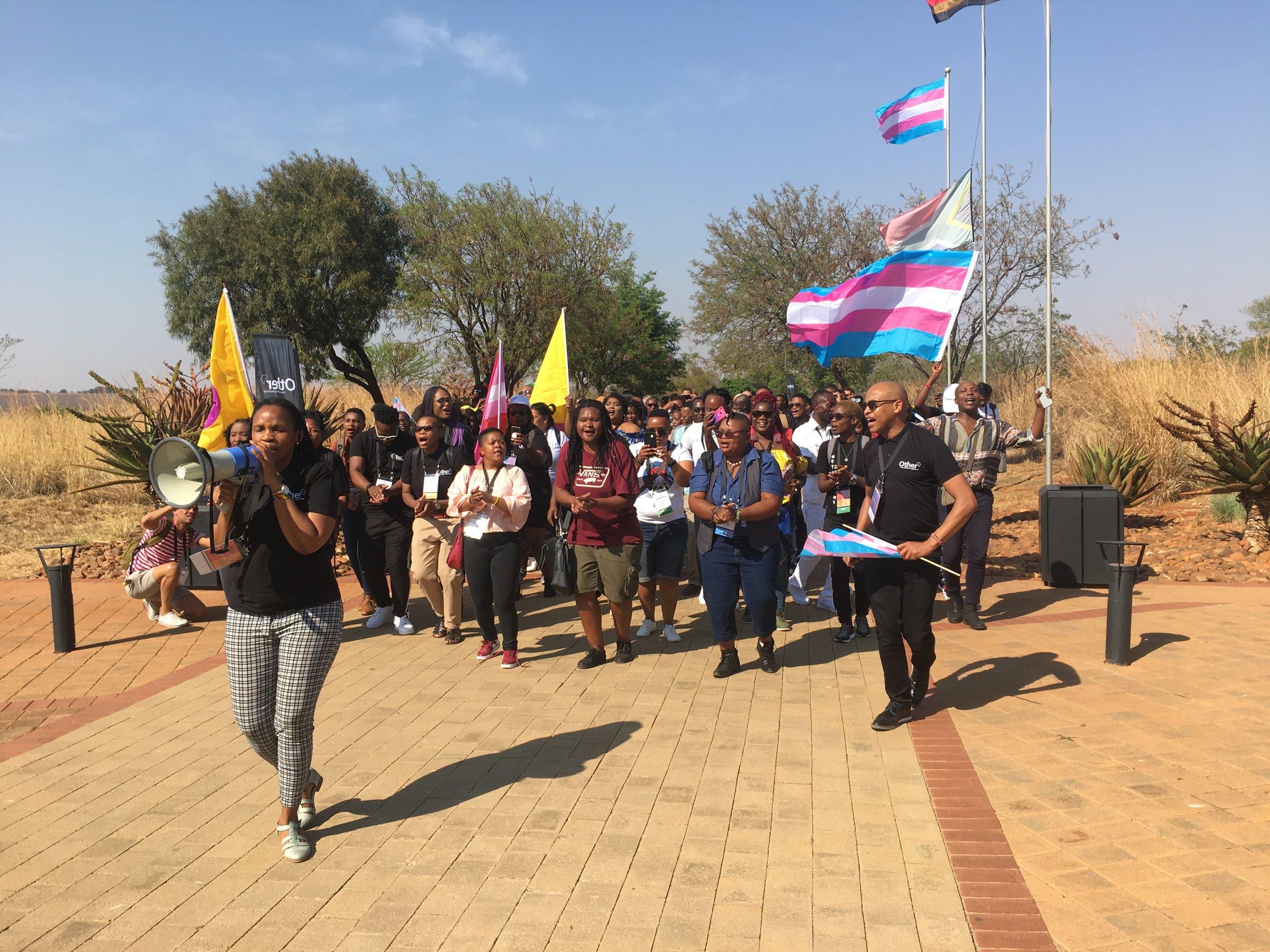 SA march