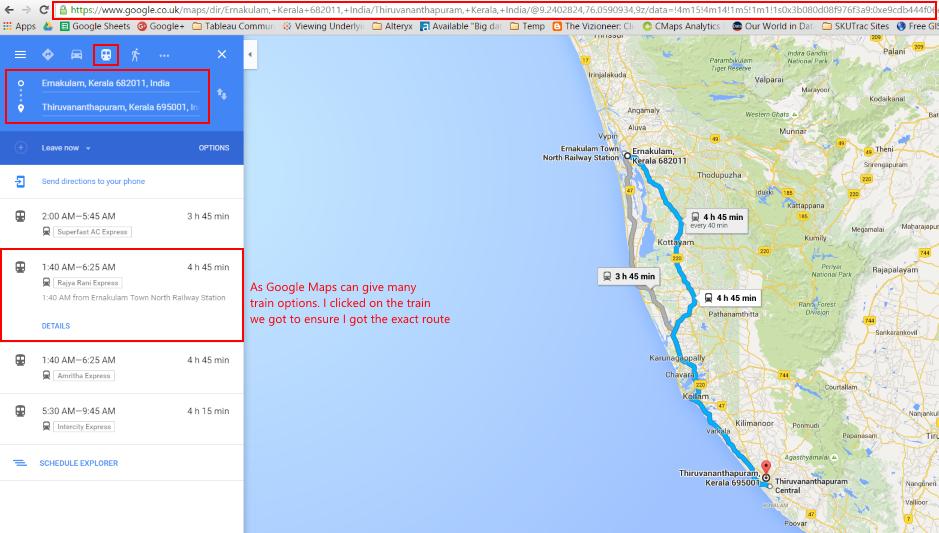 Using GPS Visulaizer - Google Map