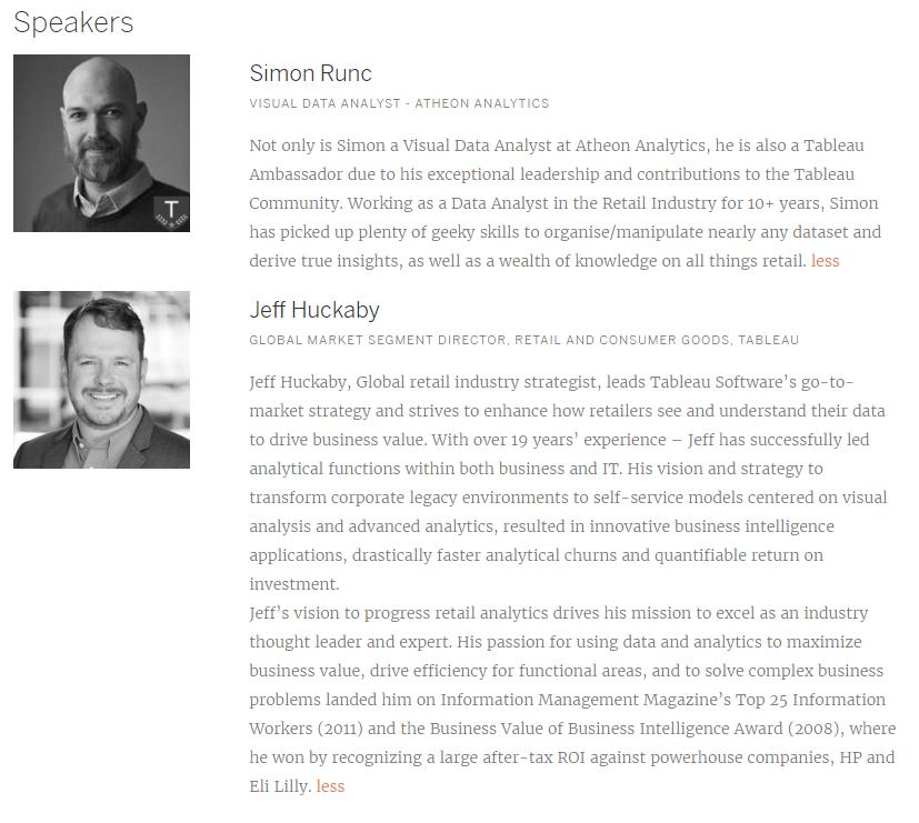 Simon Runc ,  @Runkski ,  www.linkedin.com/in/simonrunc/    Jeff Huckaby ,  @huck5 ,  www.linkedin.com/in/jeffhuckaby/