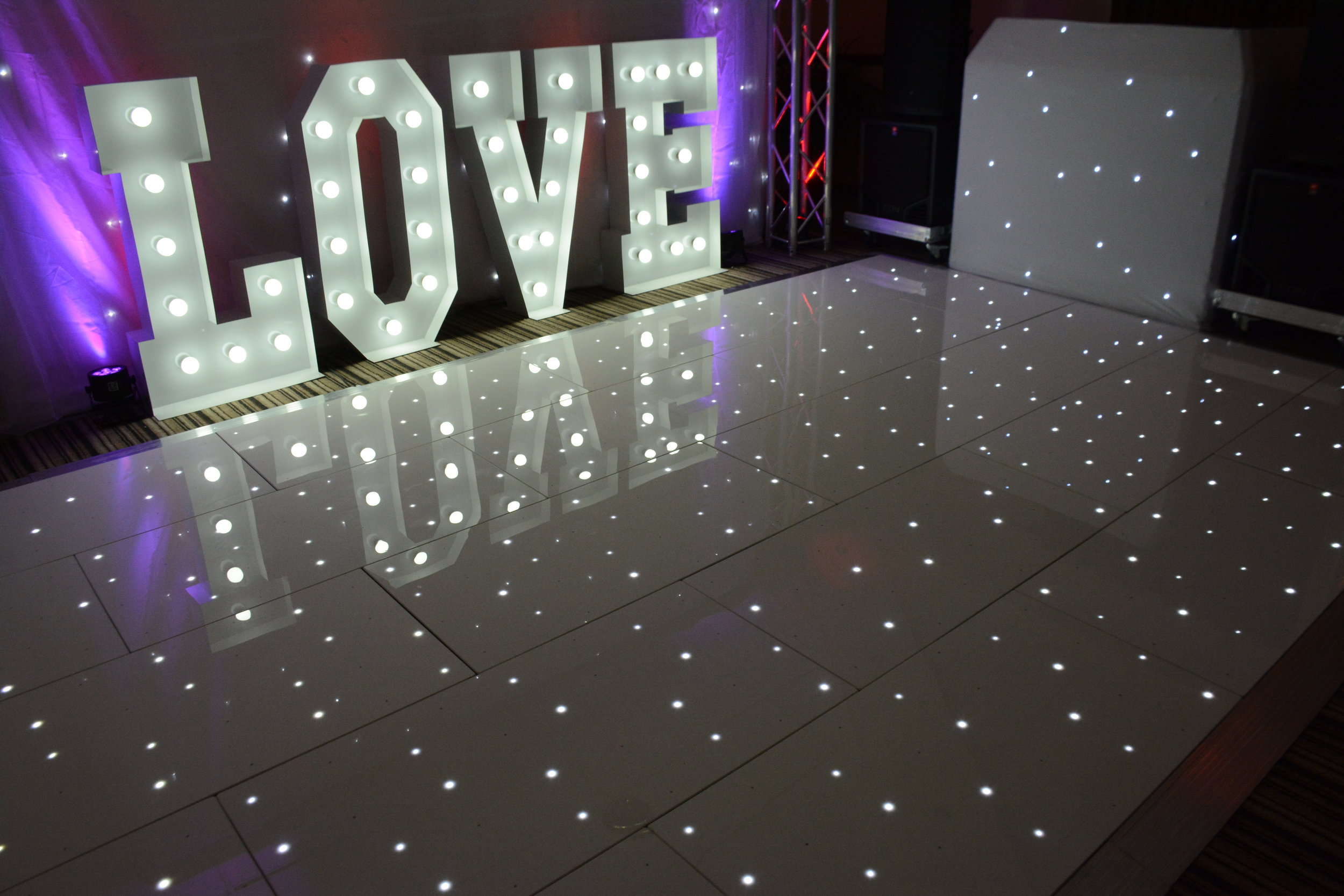 White LED Dancefloor
