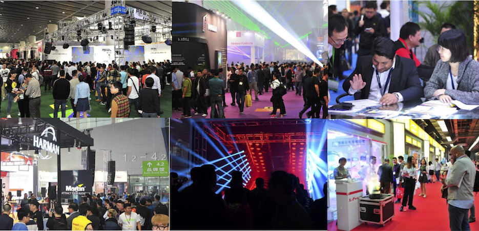 Some pictures of the theatre halls and exhibition stands.