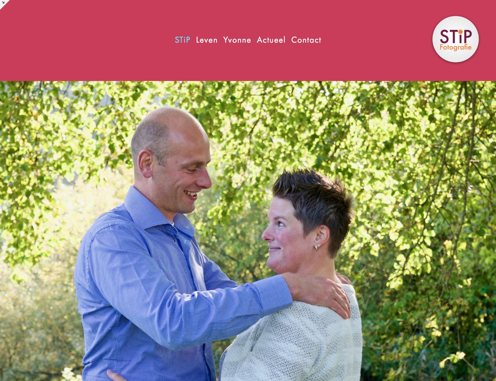 Een sprekendere homepage