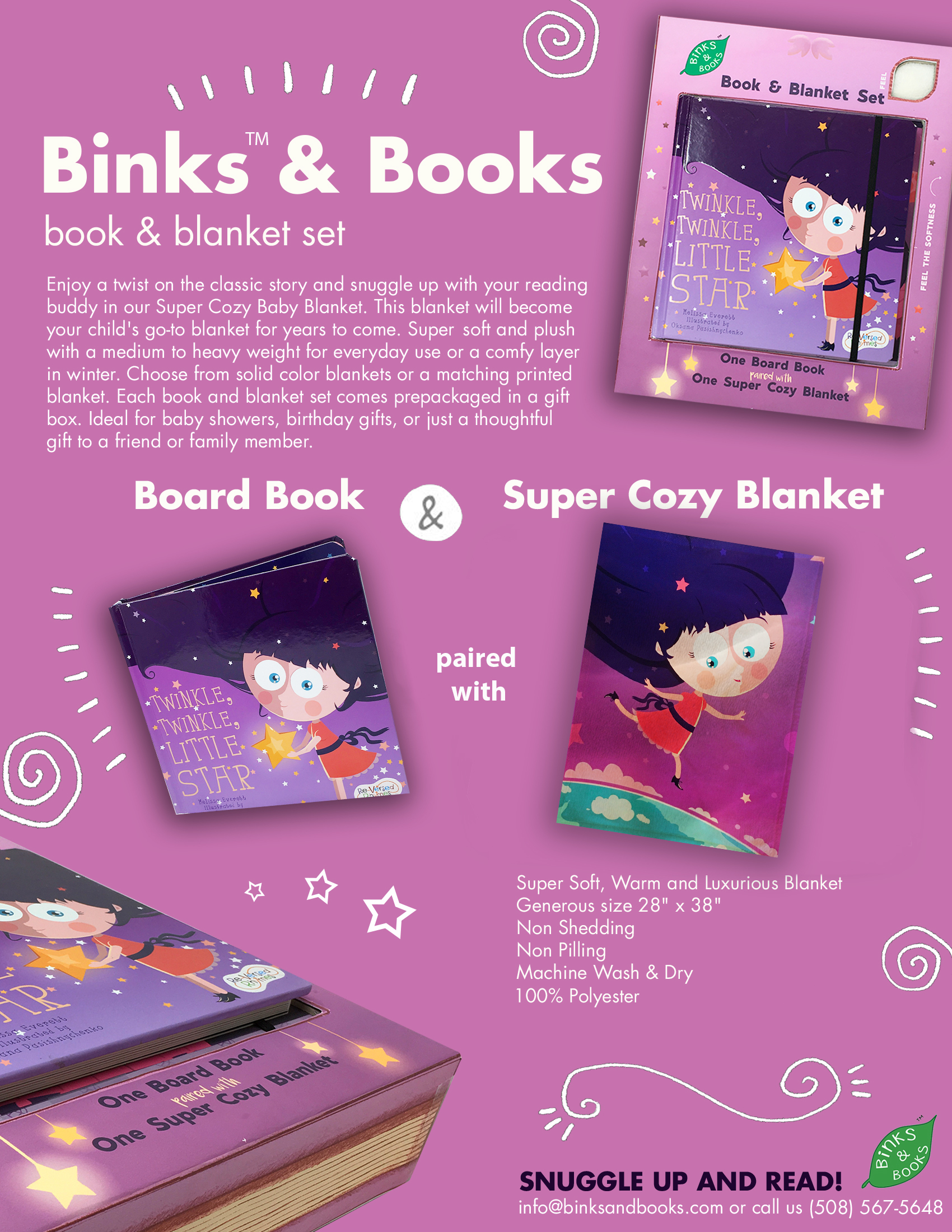 Binks & Books Sell Sheet Twinkle Twinkle Little Star