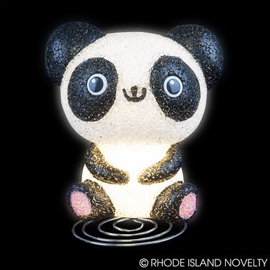 Panda Sparkle Lamp - © 2019 Rhode Island Novelty. All Rights Reserved.