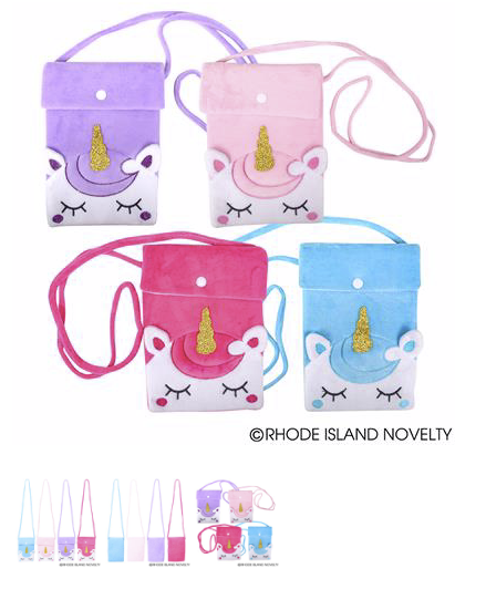 Unicorn Crossbody Bag - © 2019 Rhode Island Novelty. All Rights Reserved.