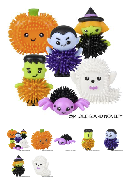 Spiky Halloween Characters - © 2019 Rhode Island Novelty. All Rights Reserved.