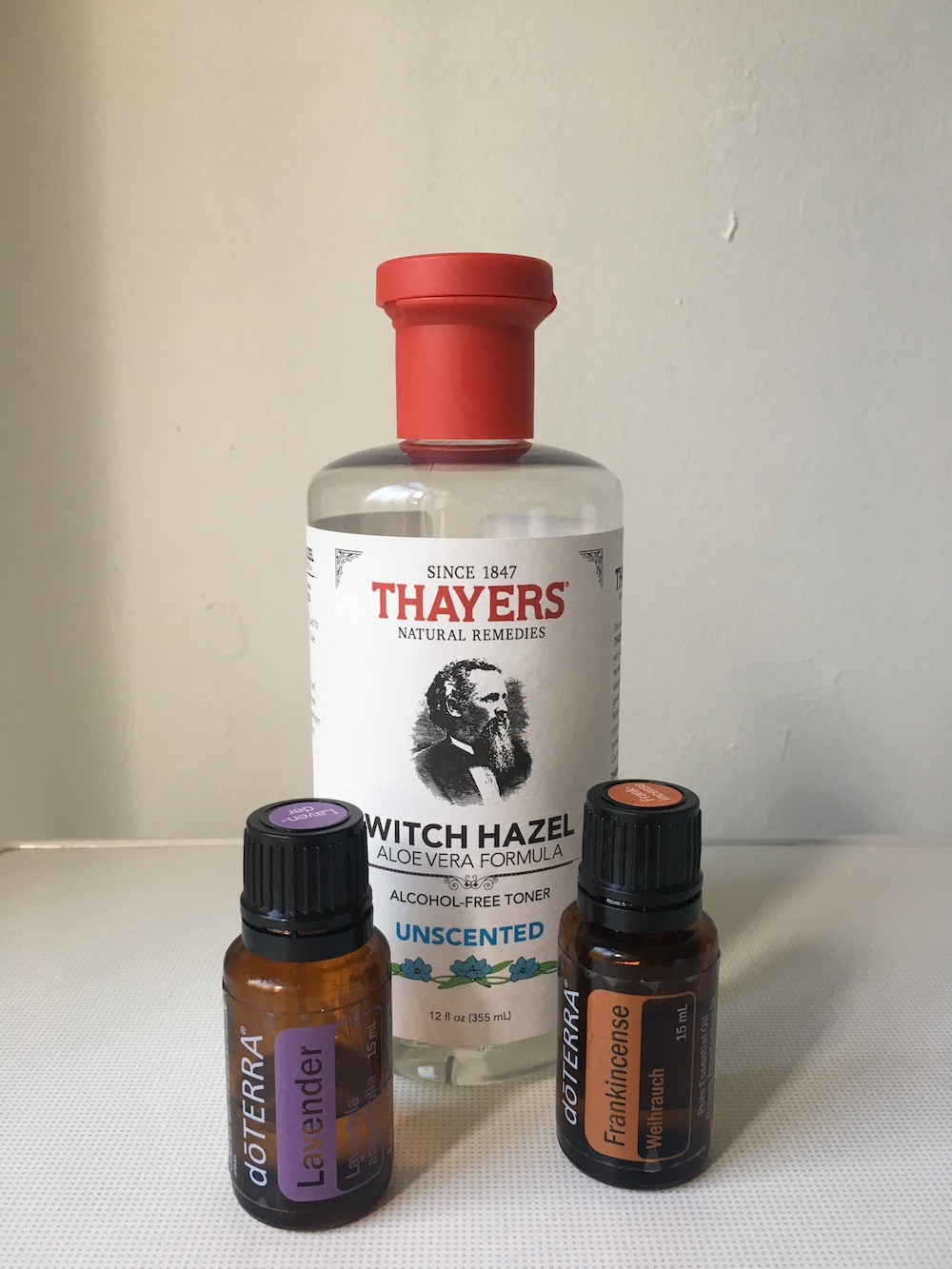 essential oil recipe postpartum spray