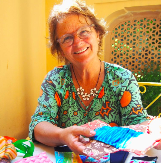 Debs is a natural carer - discovering Days for Girls, she realised it was a perfect mix of craft and charity.