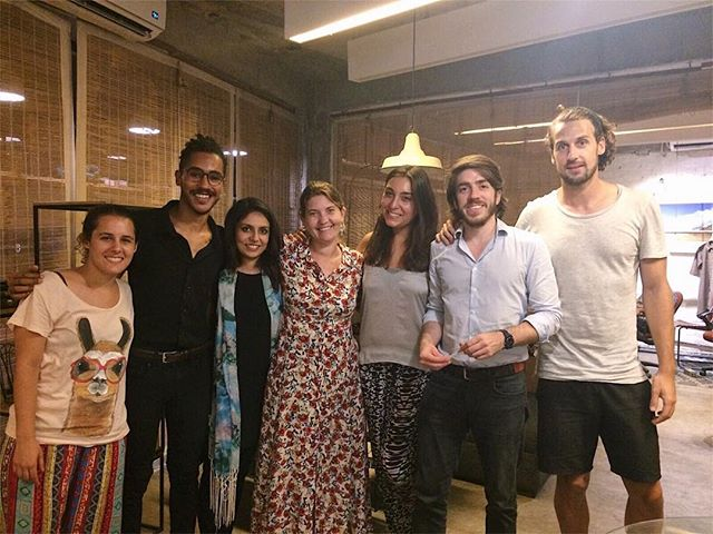 Last night in Delhi. We shared our story and lessons on change with a multinational crew from @teamlabs_, a groundbreaking learning institute based in Barcelona and Madrid. — They've spent the last year studying innovation across the world while designing ventures that will shape the future. We're so inspired by their global ambitions and creativity. Thanks for getting in touch!