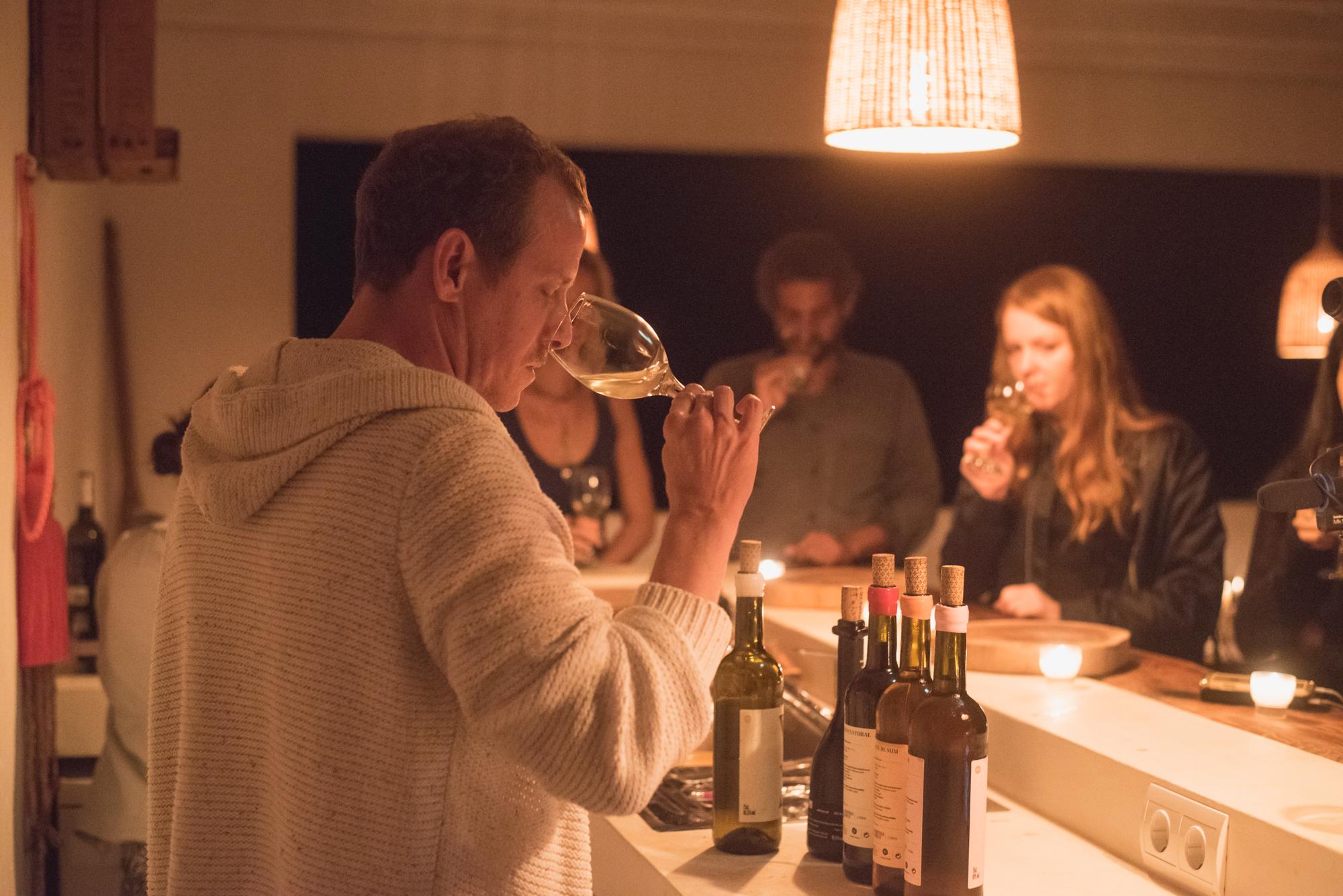 Organic and bio-dynamic wine tasting with Bernat Tatjer