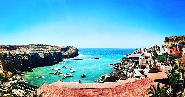 When there are so many beautiful places in Malta & Gozo it is difficult to decide on the best one for our new artwork 🇲🇹🌊 #malta #gozo #mediterraneansea #popeyesvillage #houseofgozo #gallery #art #giftshop #traveltogozo #maltagozo #maltaphotography #gozophotography #lovinmalta #visitgozo #maltaliving #seamalta #visitmaltait #lovemalta #maltalovers #maltaisamazing