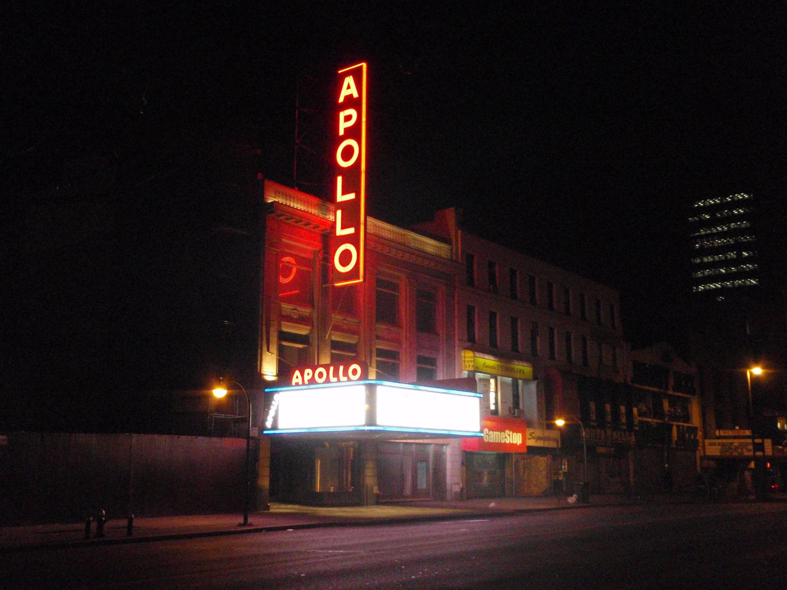 Apollo Theatre, Harlem