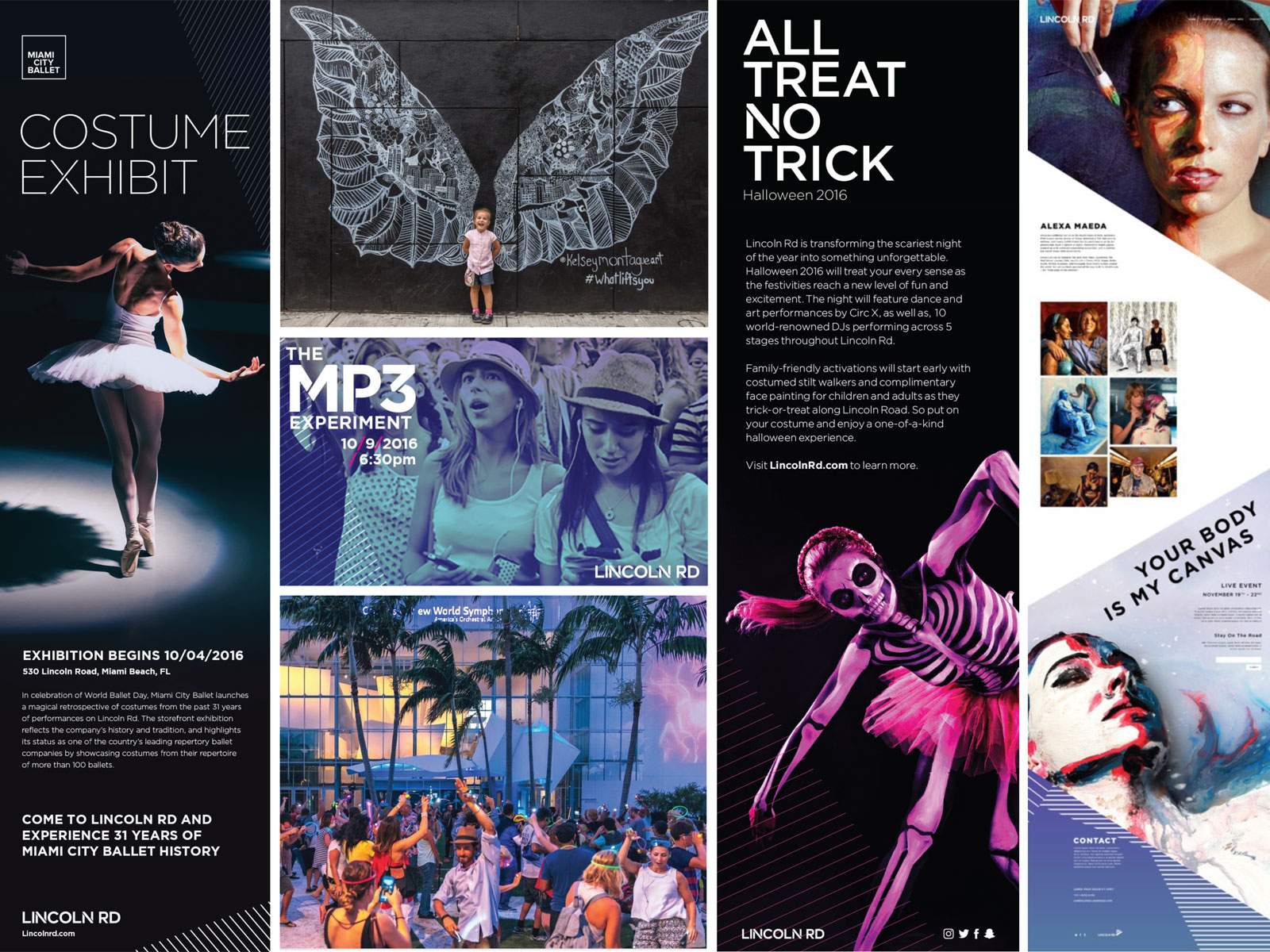 Selected activations programmed on Lincoln Road