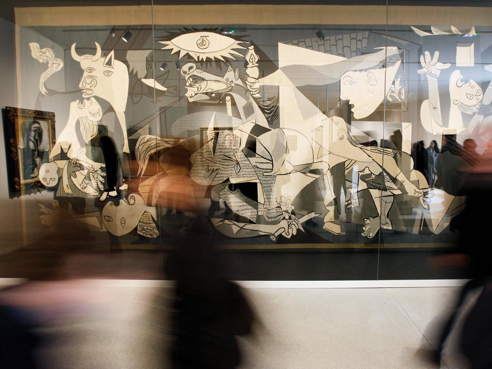 Guernica by Pablo Picasso La tapisserie Guernica par Jacqueline de la Baume Dürrbach