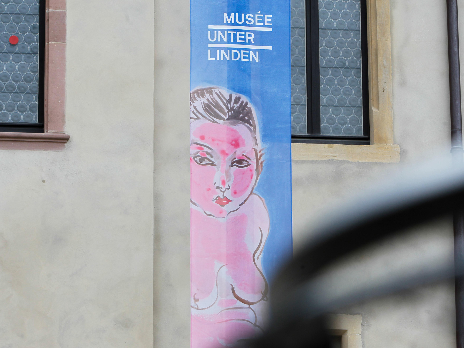 "Banner for ""le nouvel Underlinden"" (2016)"