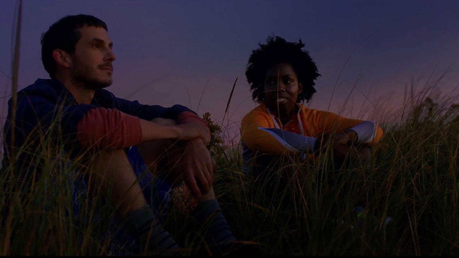 Tate Ellington (ALex) and Adepero Oduye (The Master of the Wind)