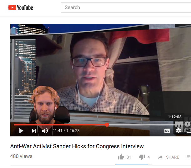 Know More NewsInterviews Sander - Know More News did a fun interview with me -- hosted by Adam Green.