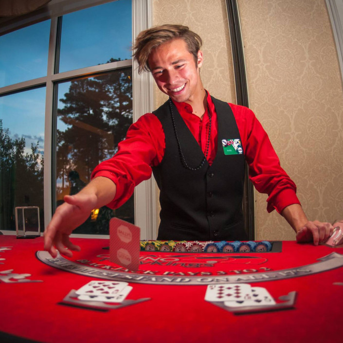 Professional tables and dealers will make Casino Night special!