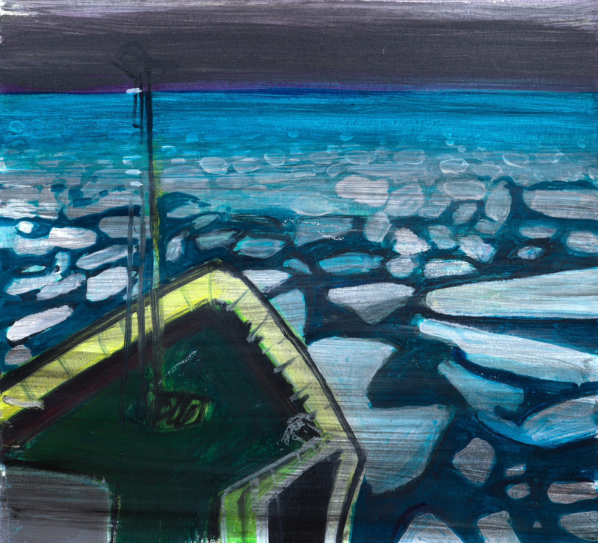 Through the Ice Sea