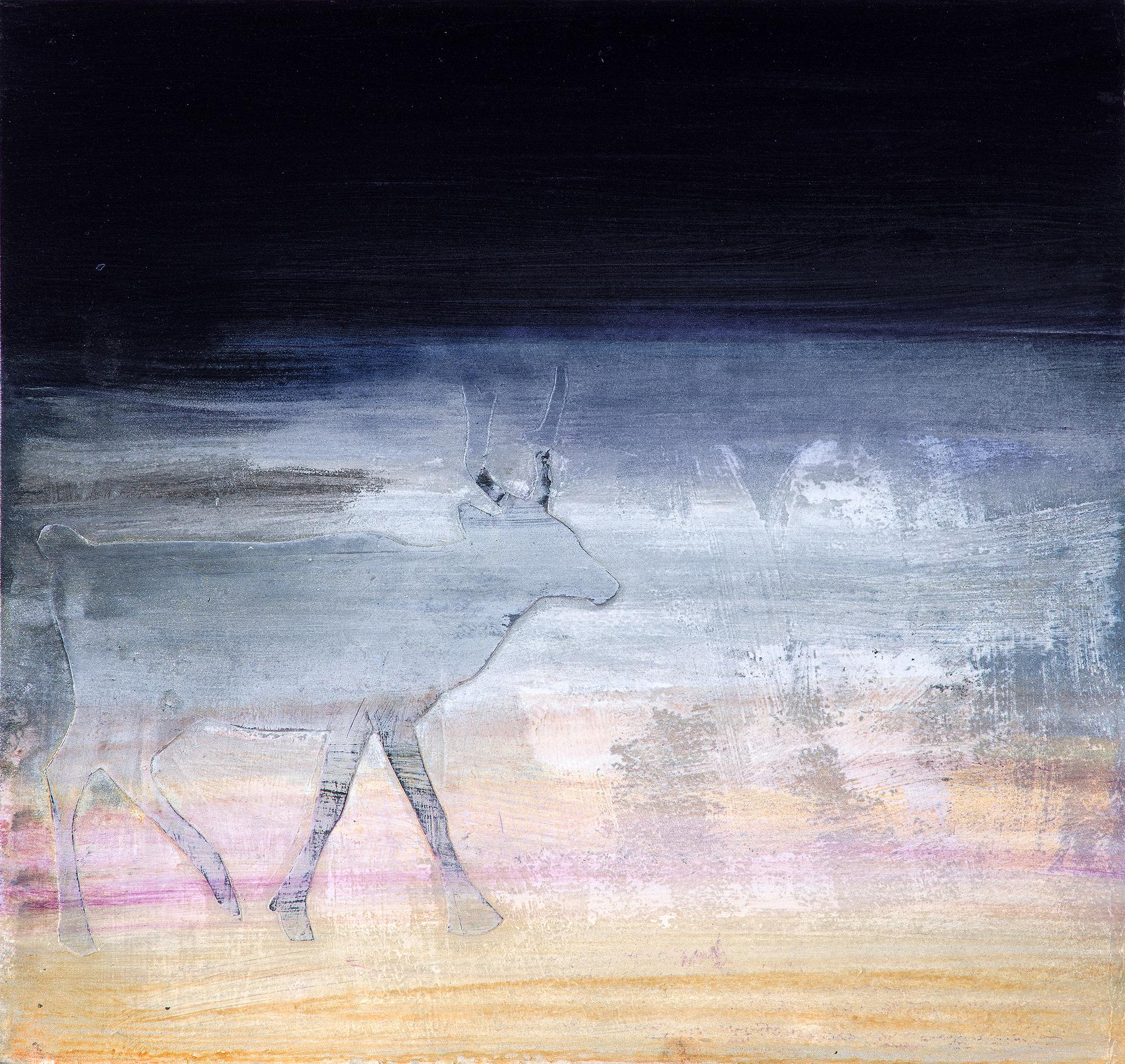 Pale Walking Caribou