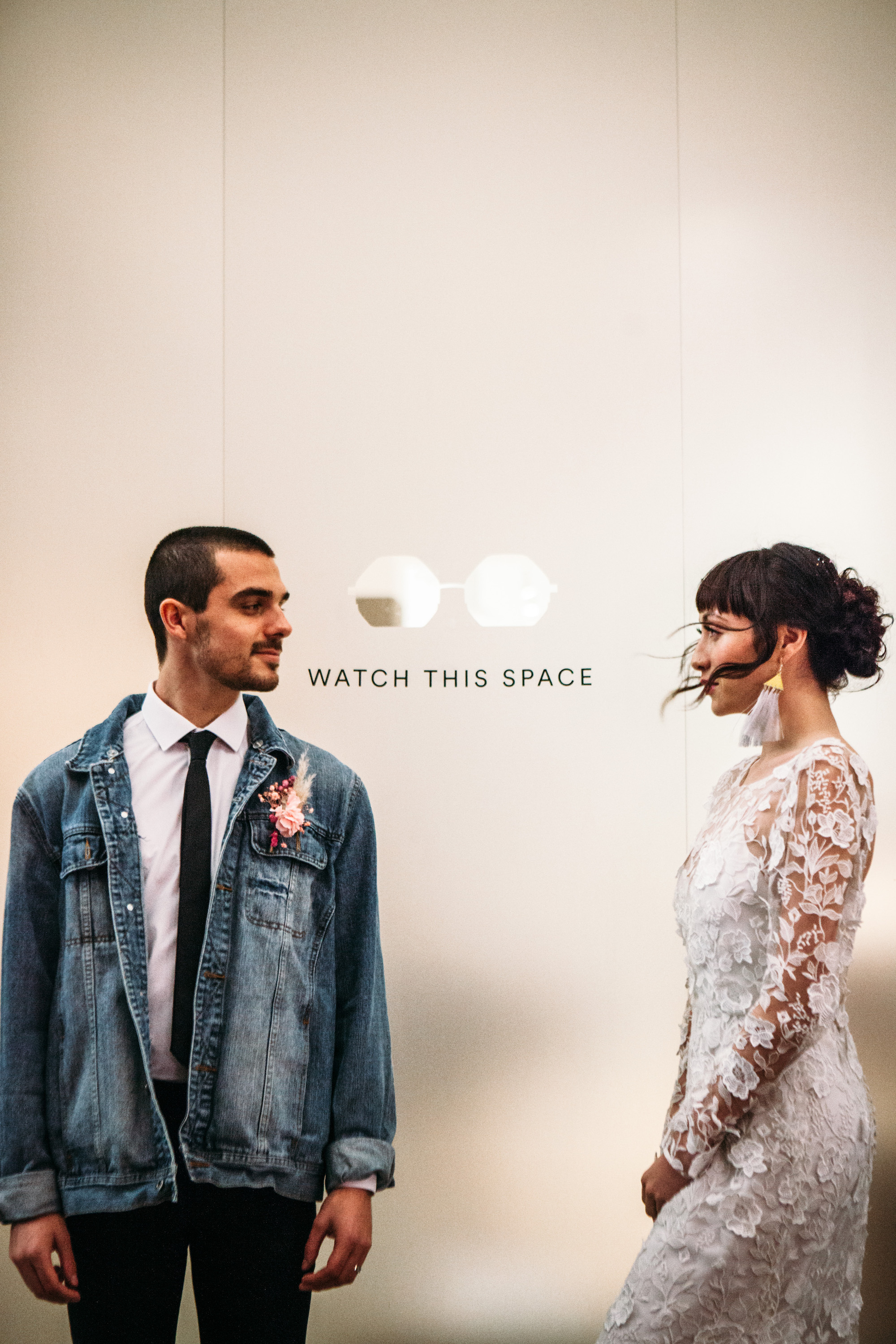 Cool London Wedding Styling Shoreditch