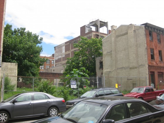 Huge vacant lot