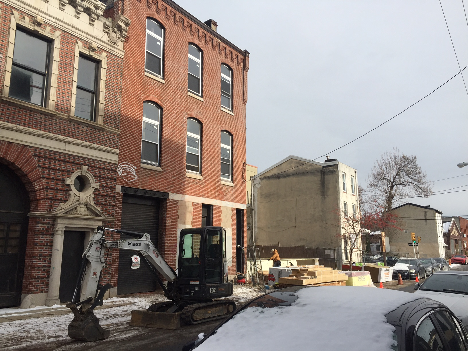 New foundation at 1509-11 Parrish St.