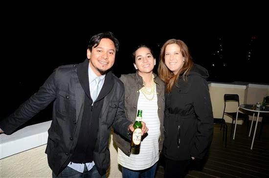 Andres Vielma, Rana Adams , and  Kristin Stever